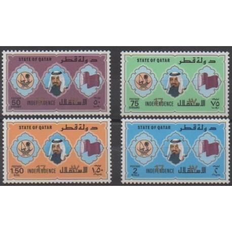 Qatar - 1988 - Nb 556/559 - Various Historics Themes