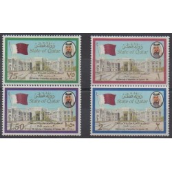 Qatar - 1989 - Nb 569/572 - Various Historics Themes