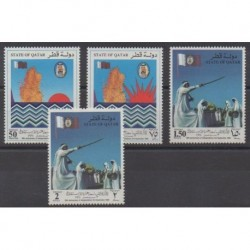 Qatar - 1990 - Nb 576/579 - Various Historics Themes
