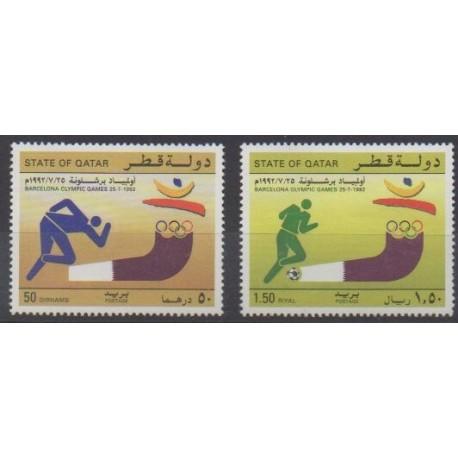 Qatar - 1992 - Nb 622/623 - Summer Olympics