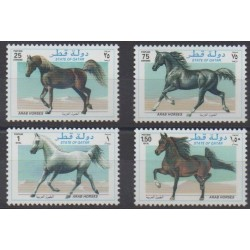 Qatar - 1997 - Nb 737/740 - Horses