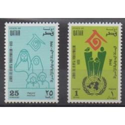 Qatar - 1994 - Nb 672/673