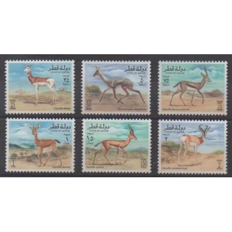 Qatar - 1996 - Nb 700/705 - Mamals