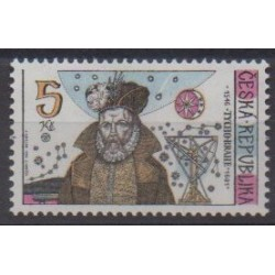 Czech (Republic) - 1996 - Nb 123 - Astronomy