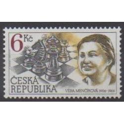 Tchèque (République) - 1996 - No 100 - Échecs