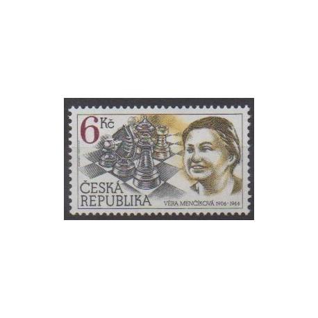 Czech (Republic) - 1996 - Nb 100 - Chess