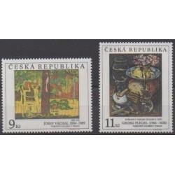 Tchèque (République) - 1996 - No 127/128 - Peinture