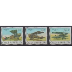 Czech (Republic) - 1996 - Nb 124/126 - Planes