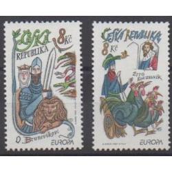 Tchèque (République) - 1997 - No 141/142 - Littérature - Europa