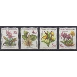 Tchèque (République) - 1997 - No 131/134 - Fleurs