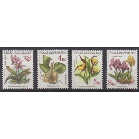 Czech (Republic) - 1997 - Nb 131/134 - Flowers