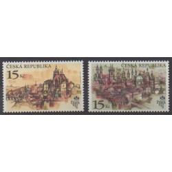 Tchèque (République) - 1997 - No 153/154 - Peinture - Philatélie