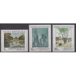 Tchèque (République) - 1997 - No 158/160 - Peinture