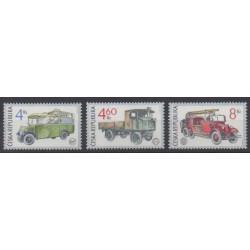 Czech (Republic) - 1997 - Nb 155/157 - Transport