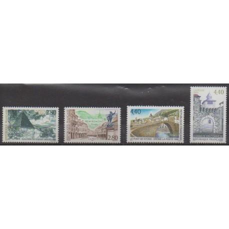 France - Poste - 1995 - No 2954/2957 - Sites