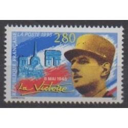 France - Poste - 1995 - Nb 2944 - De Gaullle