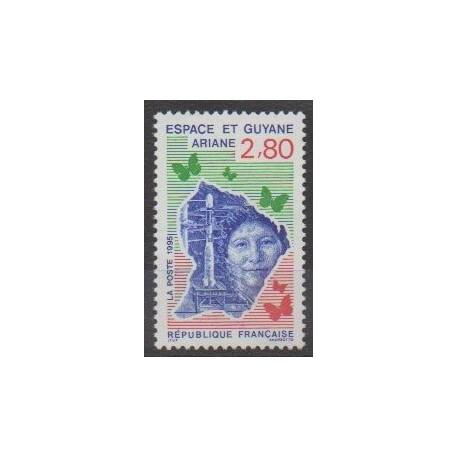 France - Poste - 1995 - Nb 2948 - Space
