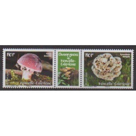 New Caledonia - 2020 - Nb 1394/1395 - Mushrooms