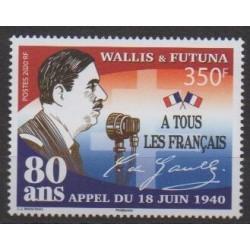 Wallis and Futuna - 2020 - Appel du 18 juin - De Gaullle - Second World War