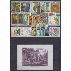 Polynésie - Année complète - 1988 - No 295/323 - BF14
