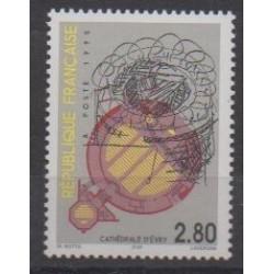 France - Poste - 1995 - Nb 2984 - Churches