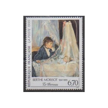 France - Poste - 1995 - Nb 2972 - Paintings