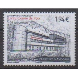 French Andorra - 2020 - Liceu, Comte de Foix