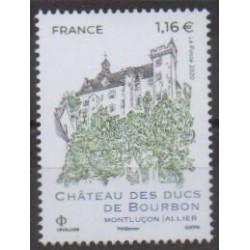 France - Poste - 2020 - Château des ducs de Boubon - Castles