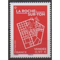 France - Poste - 2020 - La-Roche-sur-Yon - Sights