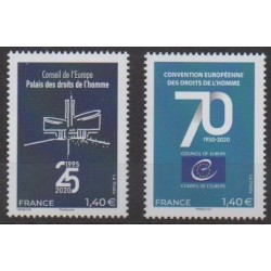 France - Official stamps - 2020 - Nb 177/178 - Human Rights