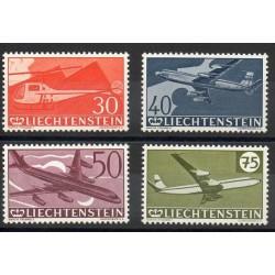 Liechtenstein - 1960- Nb PA34/PA37 - Planes