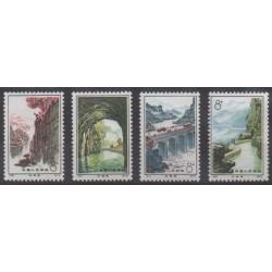Chine - 1972 - No 1865/1868 - Sites - Neufs avec charnière