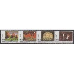 Equatorial Guinea - 1997 - Nb 350/353 - Mushrooms