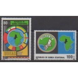 Guinée équatoriale - 1986 - No 218/219