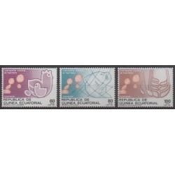 Equatorial Guinea - 1987 - Nb 222/224