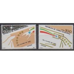 Guinée équatoriale - 1987 - No 227/228 - Philatélie