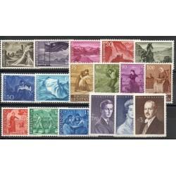Liechtenstein - 1959 - No 342A/349C
