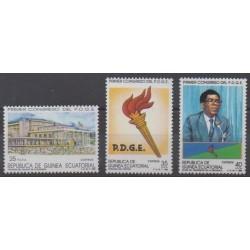 Equatorial Guinea - 1989 - Nb 248/250