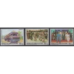 Guinée équatoriale - 1989 - No 242/244