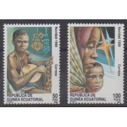 Equatorial Guinea - 1988 - Nb 240/241 - Christmas
