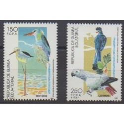 Equatorial Guinea - 1992 - Nb 282/283 - Birds