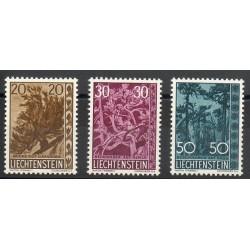 Liechtenstein - 1960 - No 356/358 - Arbres