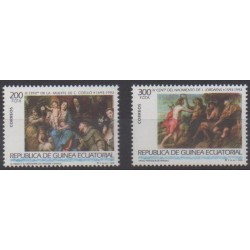 Equatorial Guinea - 1993 - Nb 290/291 - Paintings