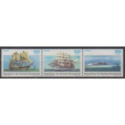 Equatorial Guinea - 1996 - Nb 343/345 - Boats