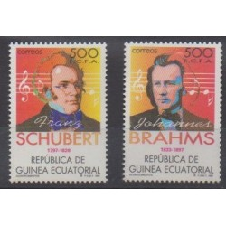 Equatorial Guinea - 1997 - Nb 355/356 - Music