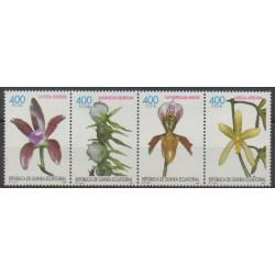 Equatorial Guinea - 1998 - Nb 381/384 - Orchids