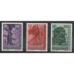 Liechtenstein - 1959- No 339/341 - Arbres