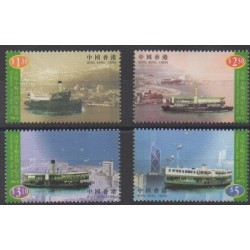 Hong Kong - 1998 - Nb 856/859 - Boats