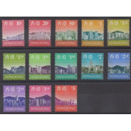 Hong Kong - 1997 - Nb 818/830 - Sights