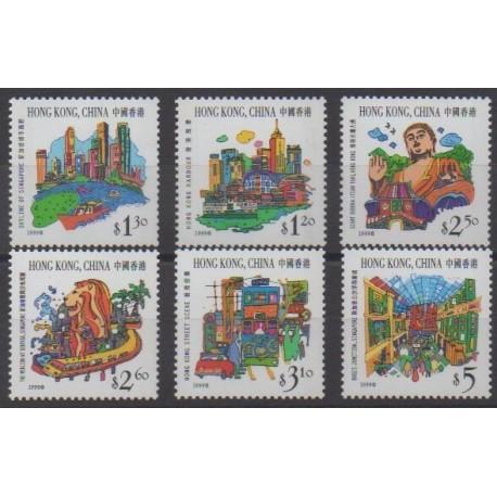 Hong Kong - 1999 - Nb 898/903
